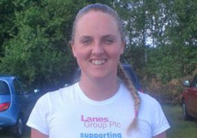 Emma Harvey's race for life.