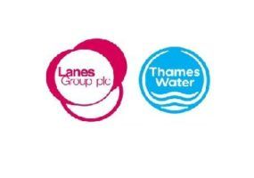 Lanes and Thames Water Logo's