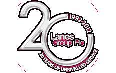 Lanes 20th Anniversary Logo