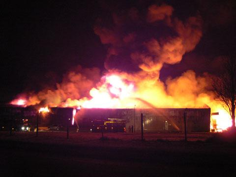 Major Factory Fire