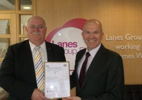 Slough receiving accreditation
