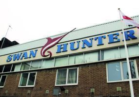 Swan Hunter Sign