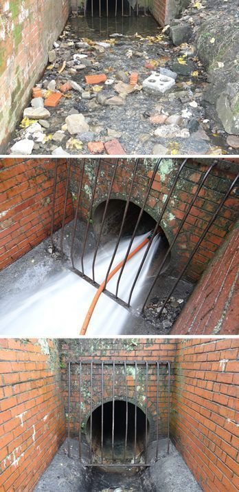 Drain Jetting on the River Medway