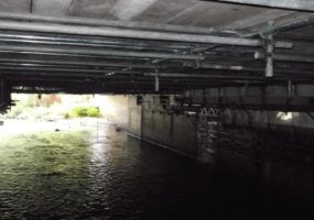 River Mersey underpass in Stockport