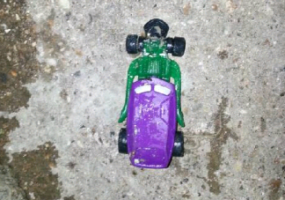 Toy Car Found In Drain