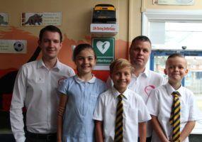 Thurrock School Defibrillator project
