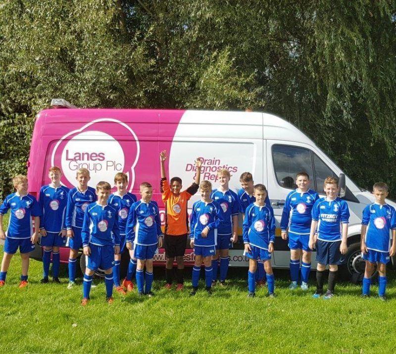 Pegasus Falcons With Lanes Group Van