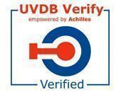 Achilles UVDB Accreditation badge