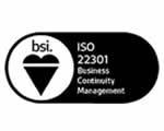 ISO 22301 standard logo