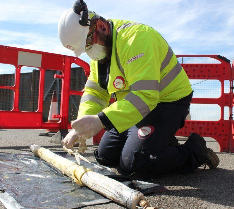 Engineer Patch Lining Repair