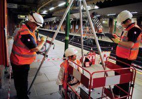 Lanes Group Engineers working on London Underground Platform