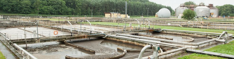 A wastewater treatment centre
