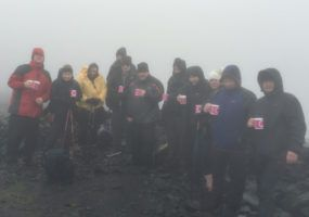 Skiddaw Team at Summit