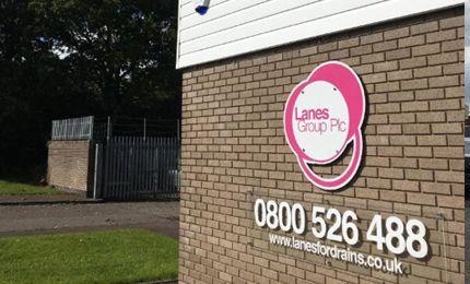 Lanes Group PLC Cardiff Depot exterior