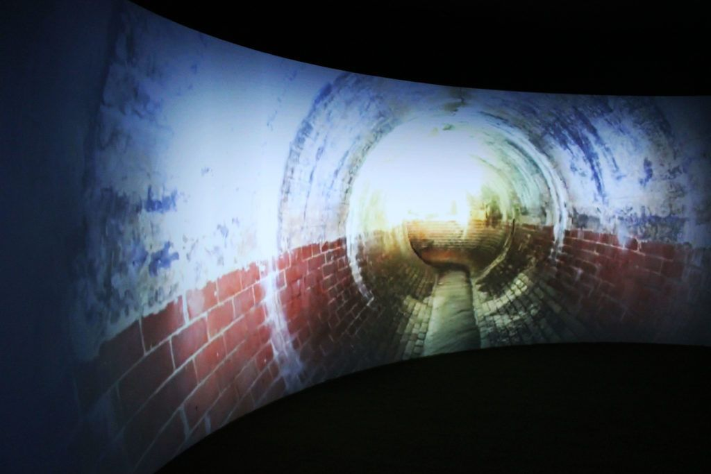 The igloo 360-degree video theatre