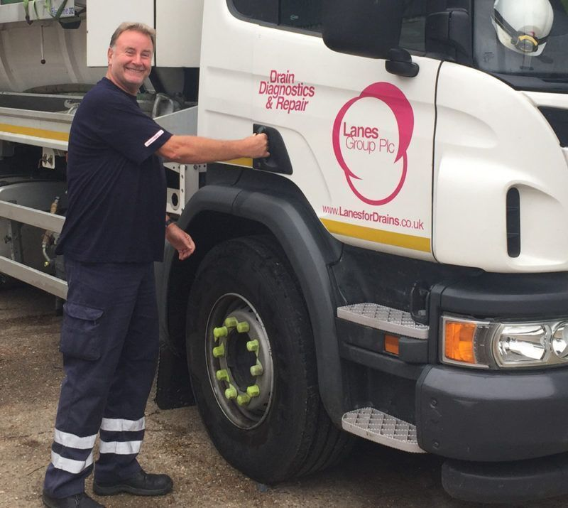 Simon Rouse and his Lanes HGV Tanker
