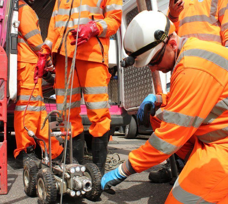Lanes Group - CCTV survey - Thames Water SQU