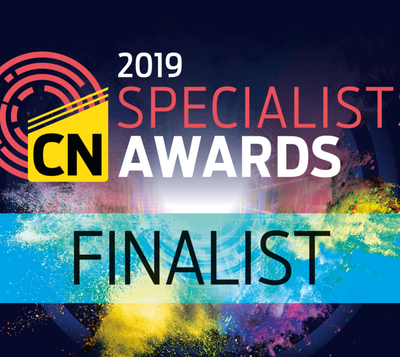 Lanes shortlisted for Construction News Specialists Award