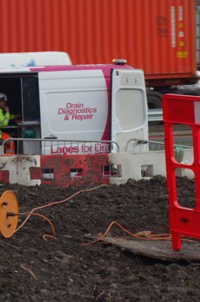 M54 Telford CCTV culvert investigation Nov 2018