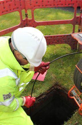 CCTV survey mobile reel