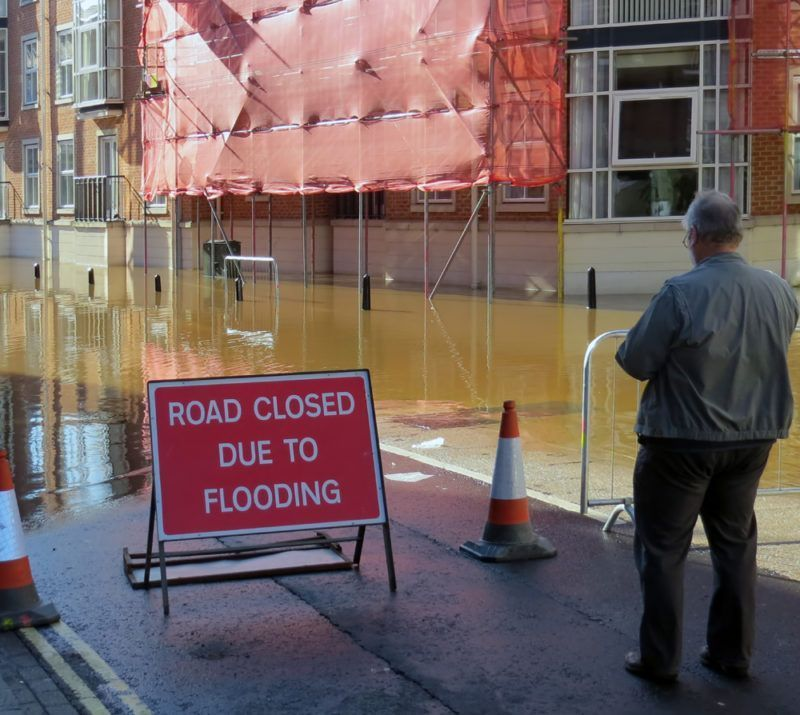 City flooding