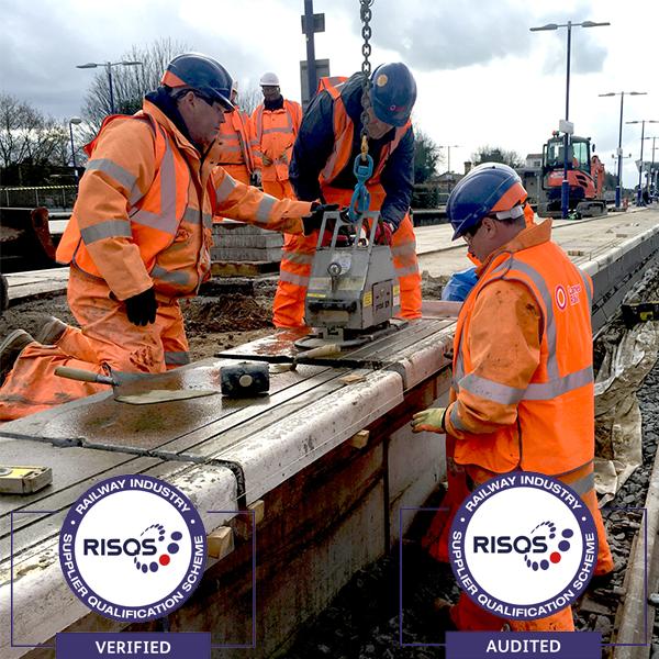 RISQS accredited Lanes workmen