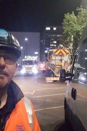 Andy Howard - leading concreteberg team