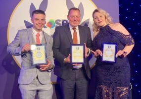 Inspiration Awards Jack Gale Andy Brierley Kelly Hansford