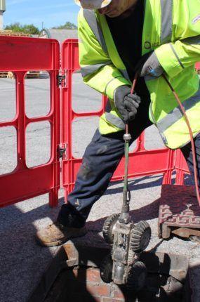 Lanes carry out CCTV drainage survey